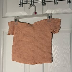 Kendall + Kylie Off The Shoulder Top Size MEDIUM